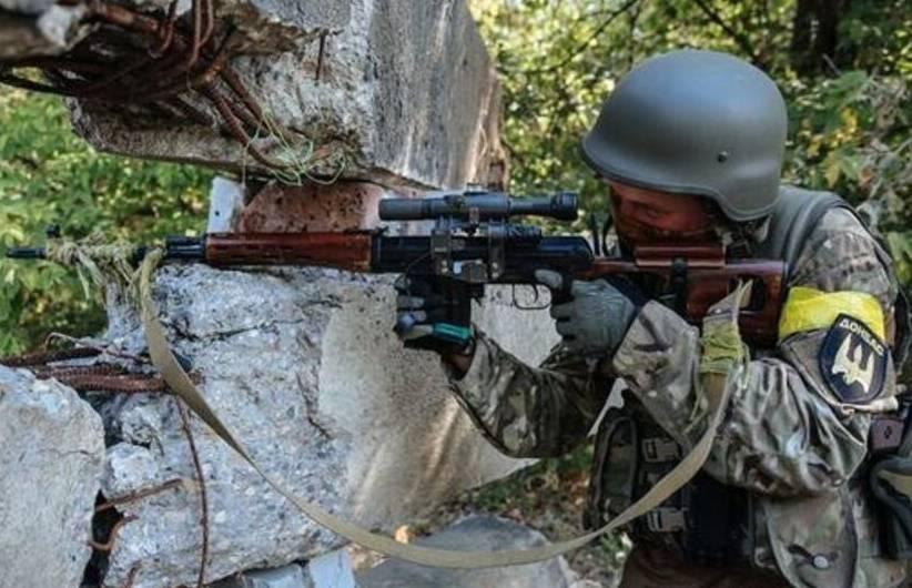 В Донбасс прибыла группа снайперов ВСУ